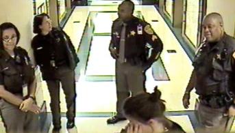 Ashle Mae OBrien After Being Beaten by Arlington Sheriff's Deputy