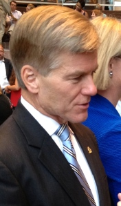 Governor McDonnell Discussing Ashlie Mae O'Brien