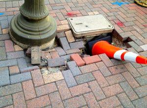 Arlington Traffic Cone Sleeping on the Job