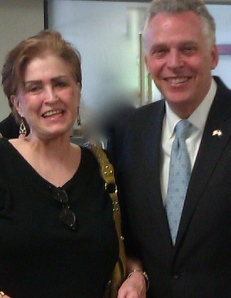 Virginia Constituent Meets with Governor Mccullah to discuss Medicaid Fraud in Foster Care in Virginia